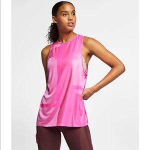 Nike Tech Pack 2.0 Pink Muscle Tank Size Small